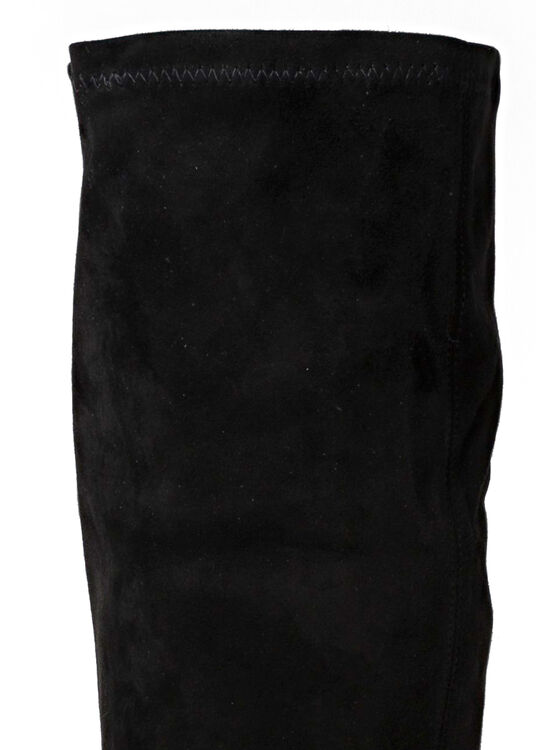 CARLOS 42 BLACK STRETCH SUEDE LEATHER image number 3