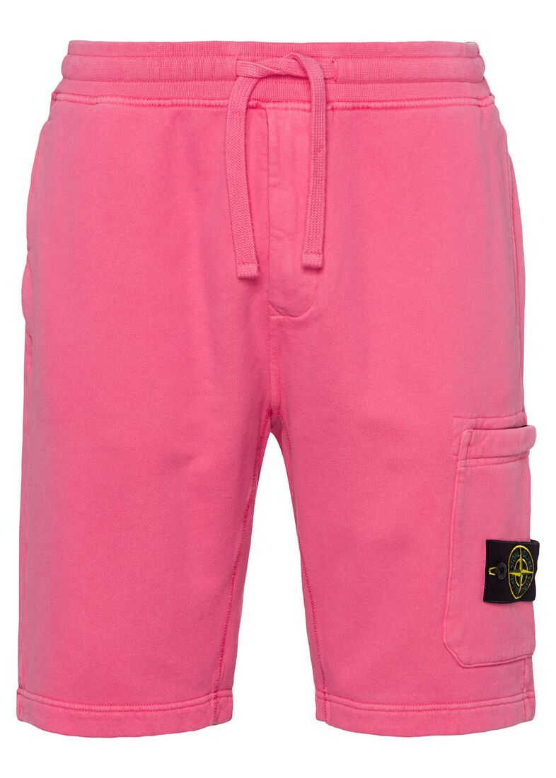 FLEECE SHORTS, Pink, large image number 0