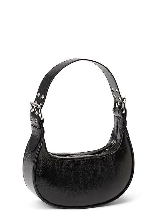 Soho Black Creased Leather image number 1