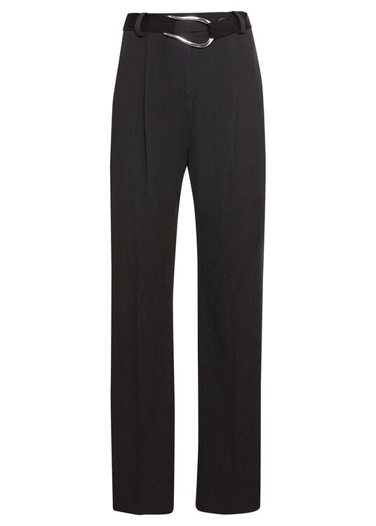 PLEATED BELTED TROUSER image number 0