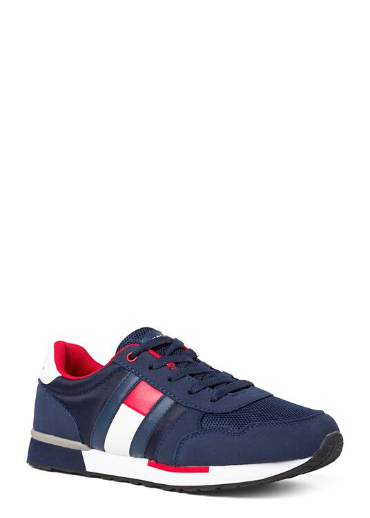 Low Cut Lace up Sneaker, Navy, large image number 1