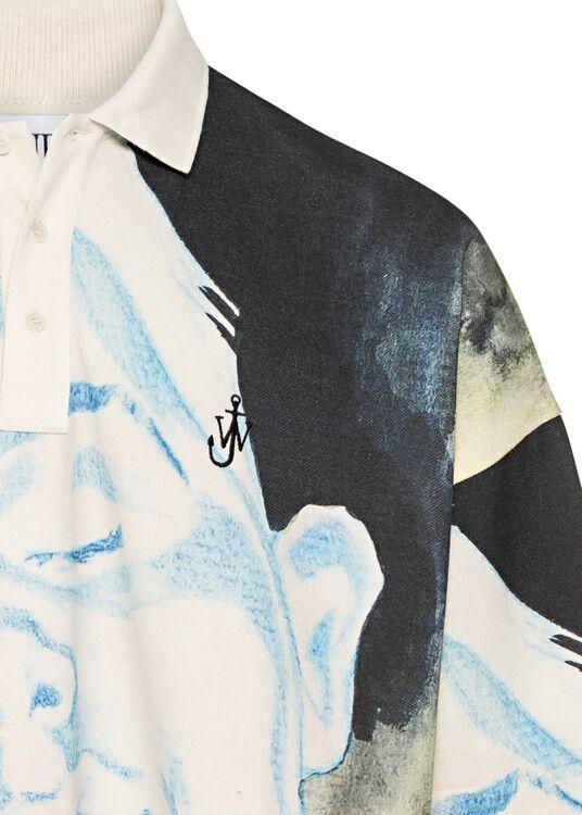 Oversized Poloshirt, Mehrfarbig, large image number 2