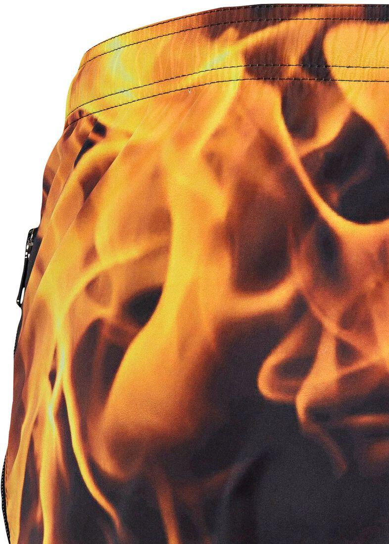 Men's Woven Swimwear, Mehrfarbig, large image number 3