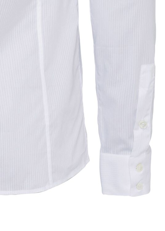 STRIPED COTTON SHIRT image number 3