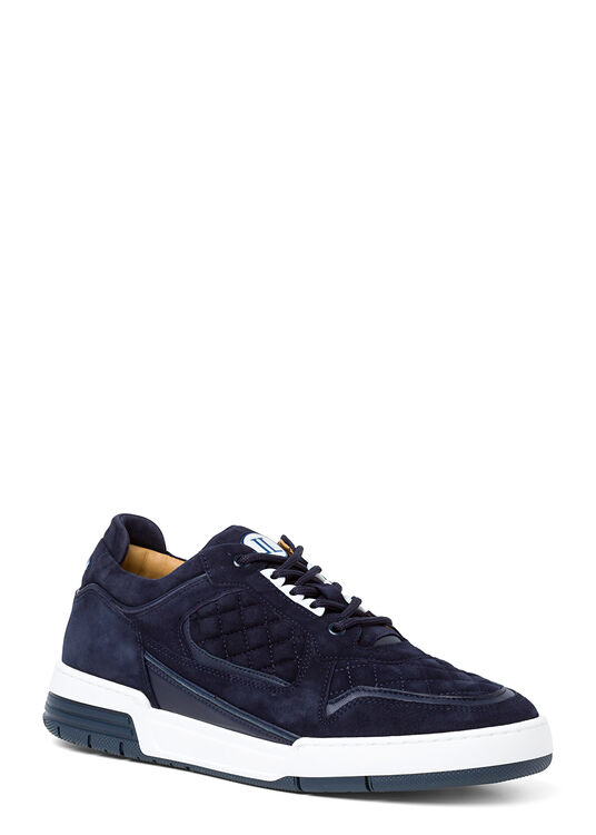 Low Top - Turbo - Blue Velour image number 1