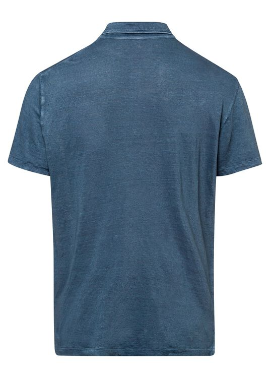 Leinen Jersey Polo image number 1