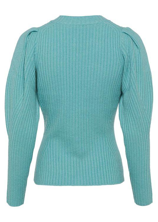 Ladybeetle Draped Sweater image number 1