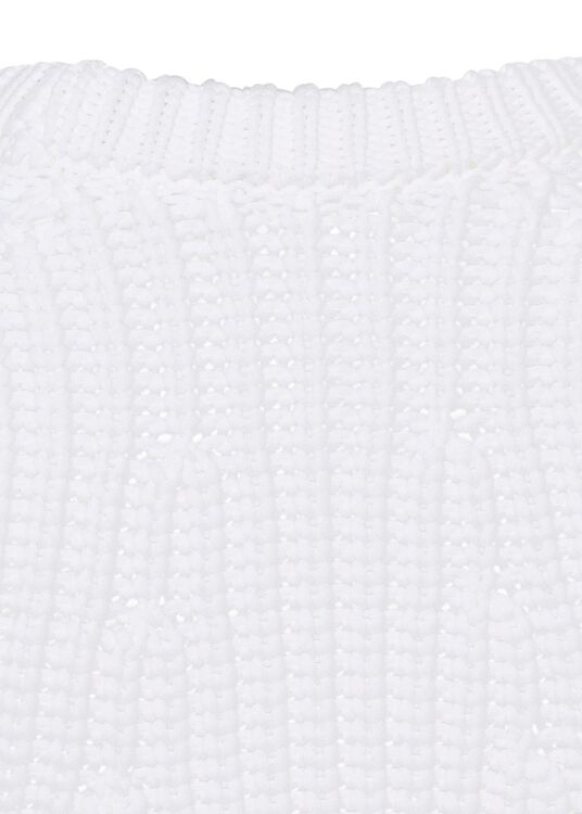 MIRRORED RIB PULLOVER image number 3