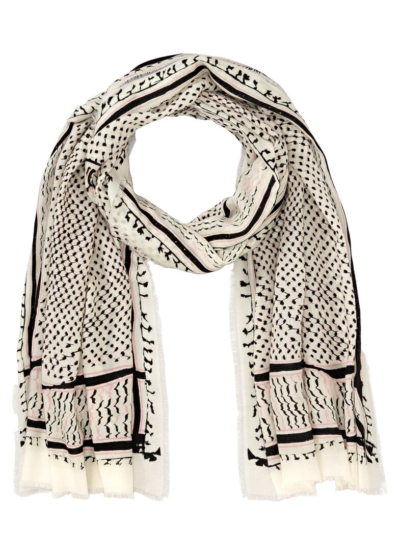 Scarf Anette, Beige, large image number 0