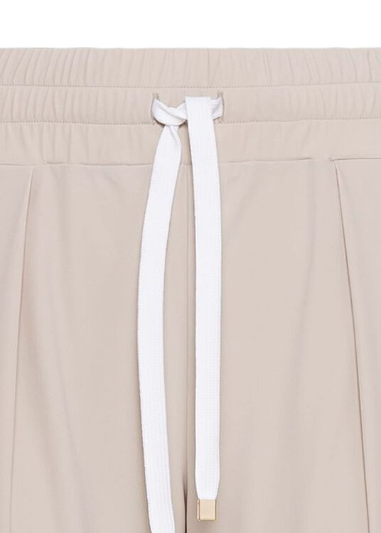 LUXE LEGER TRACK PANTS SHEER image number 2