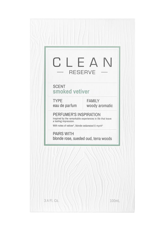 Clean, Smoked Vetiver EdP 100ml image number 1