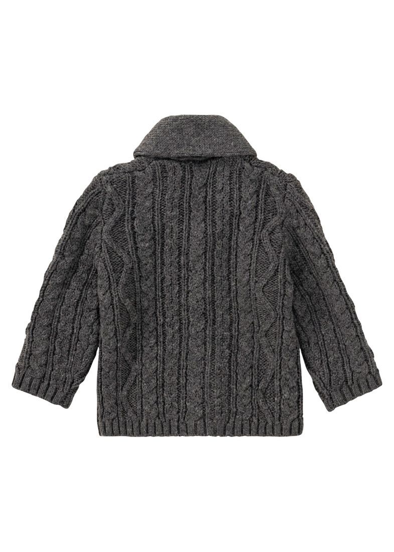 Strickjacke, Grau, large image number 1