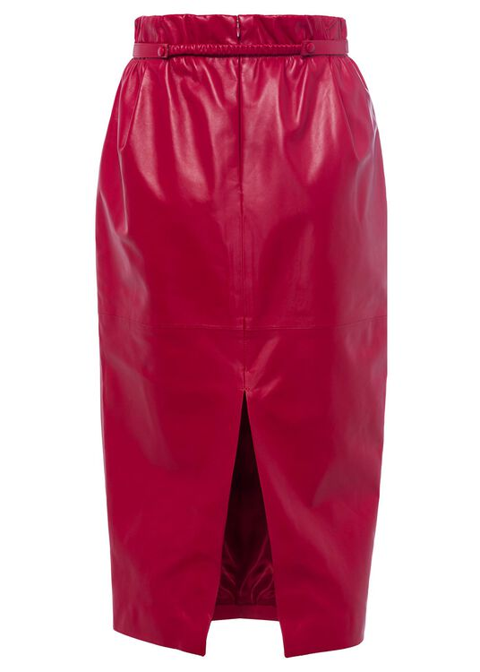 LEATHER-SKIRT, Rot, large image number 1