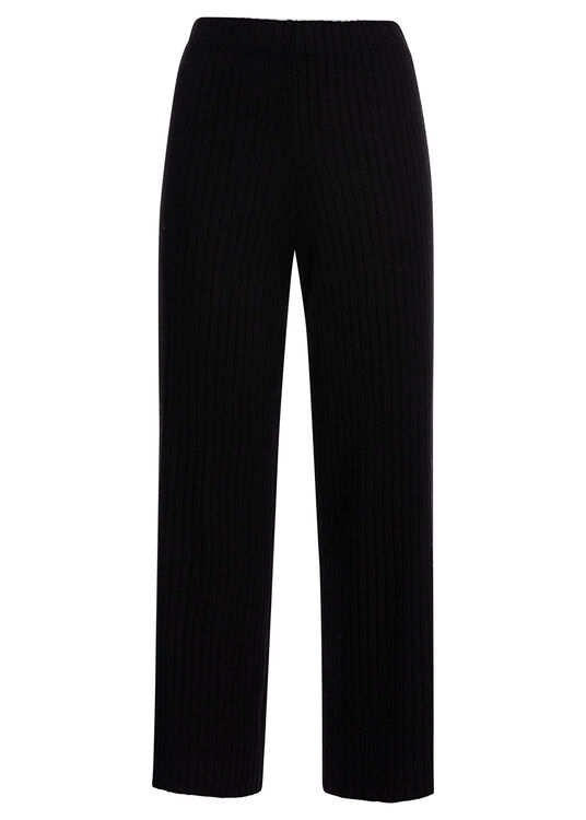 RIBBED CROPPED PANT / RIBBED CROPPED PANT image number 0