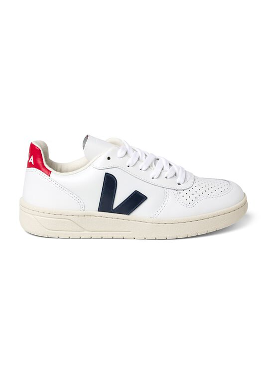 Low Sneaker V-10 Leather