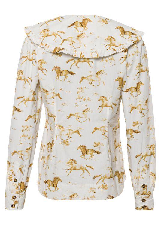 Printed Cotton Poplin Shirt/Blouse image number 1