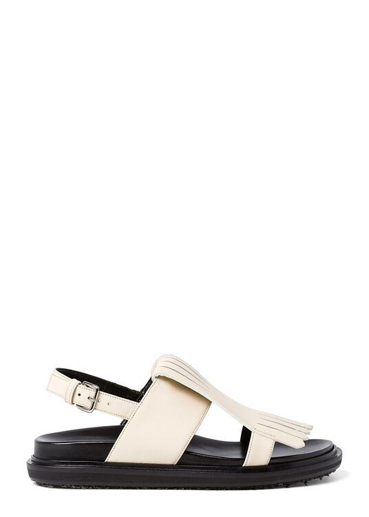 5_Flat Fringes Sandal Nappa image number 0
