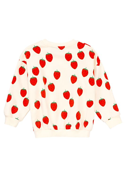 Strawberry AOP Sweater image number 1