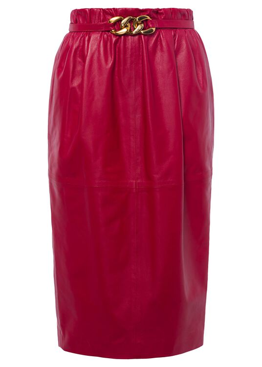 LEATHER-SKIRT, Rot, large image number 0