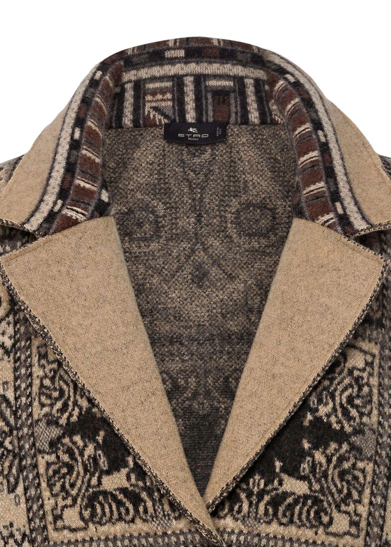 MAGLIA CAPPOTTO SELLA CLASSIC, Beige, large image number 2