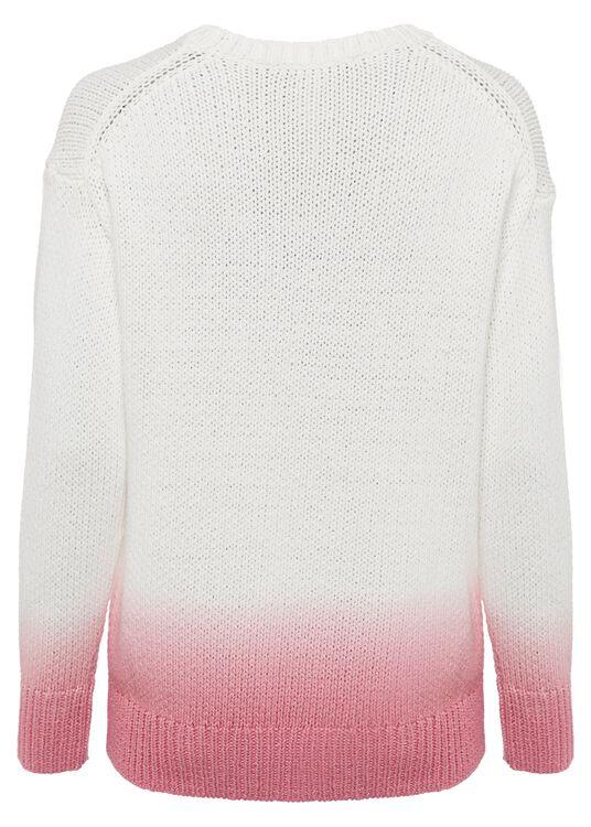 Ripp-Pullover in Garn-Optik image number 1