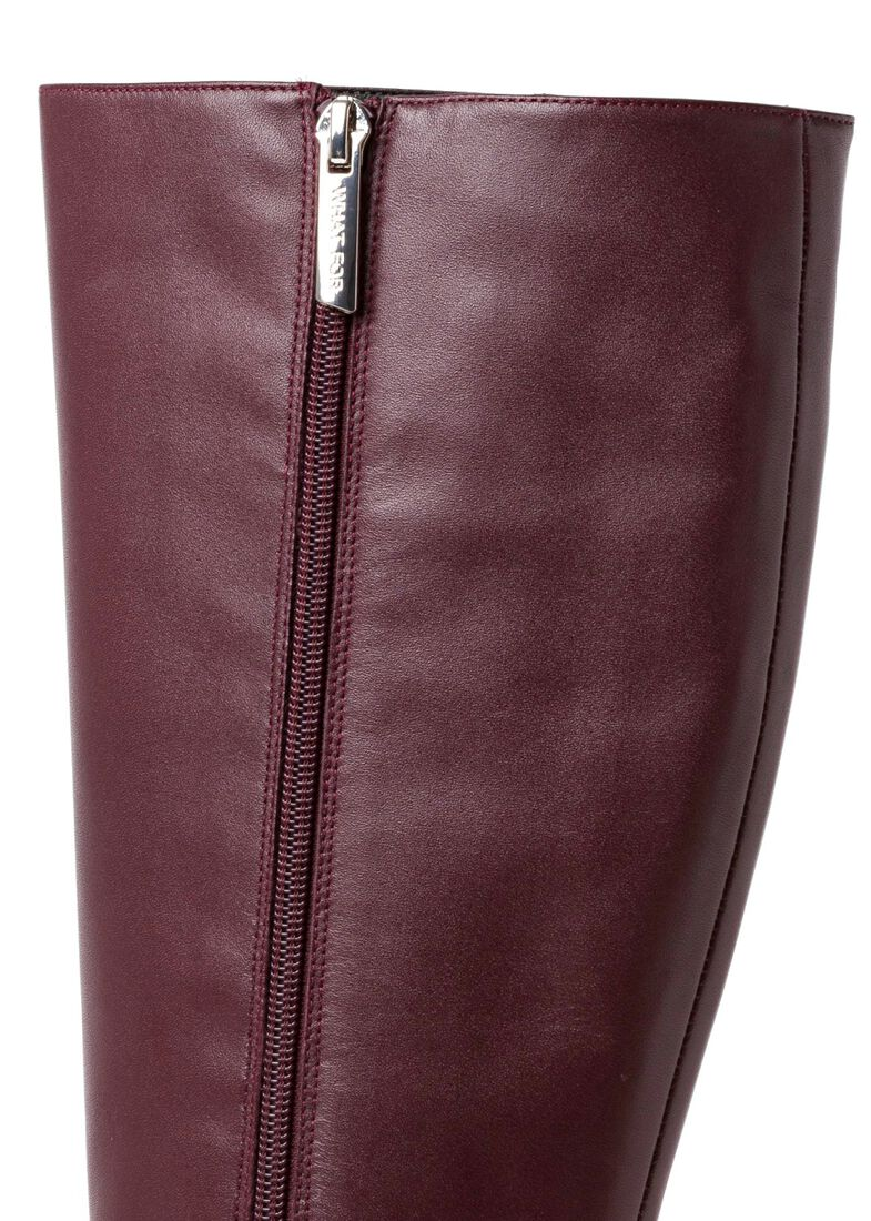 1_Giselle Knee Boot Calf, Rot, large image number 3
