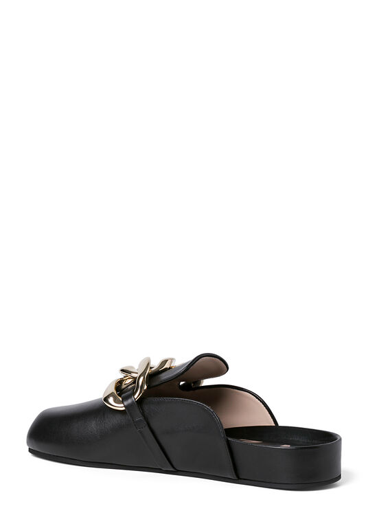 Slippers Black (Gold Chain) image number 2