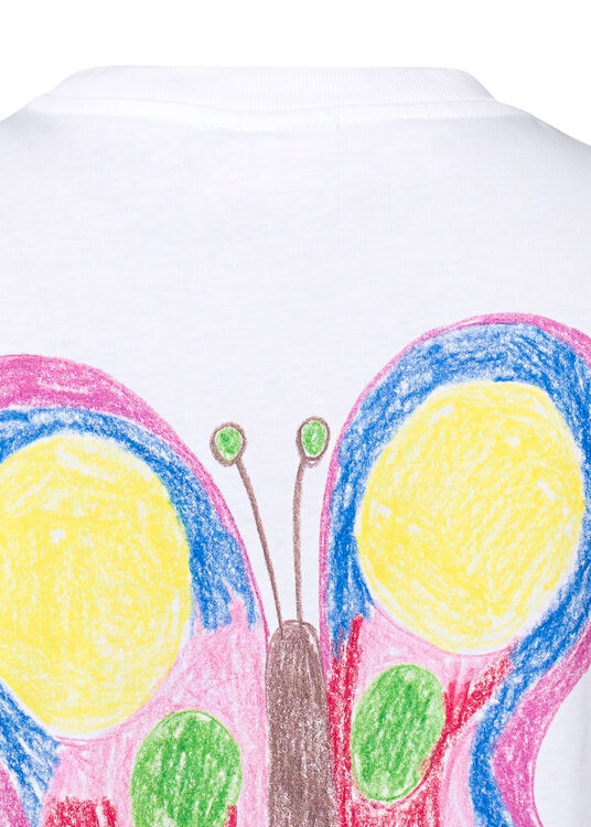 T-shirt, Butterfly image number 3