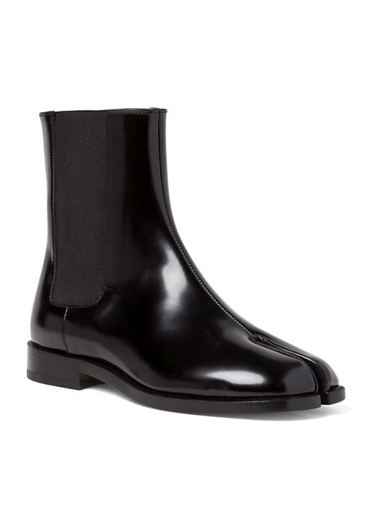 1_Chelsea Tabi Boot Brushed, Schwarz, large image number 1