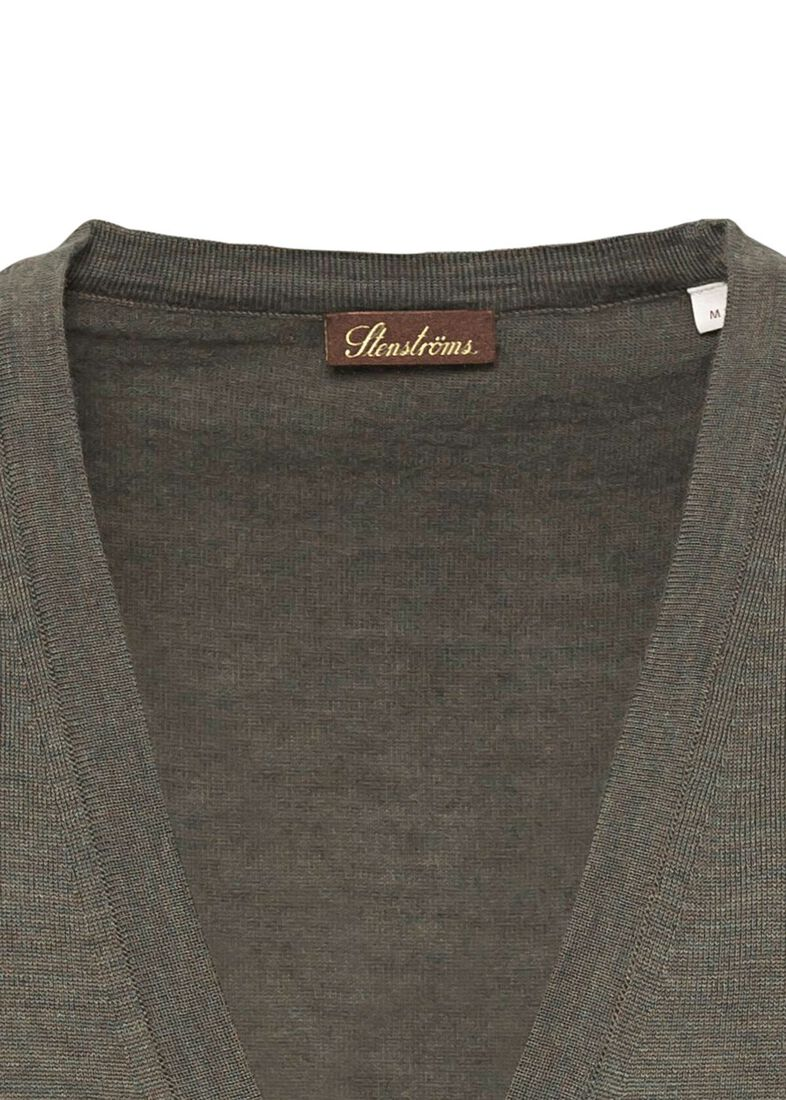 Vest, Merino wool, Grün, large image number 2