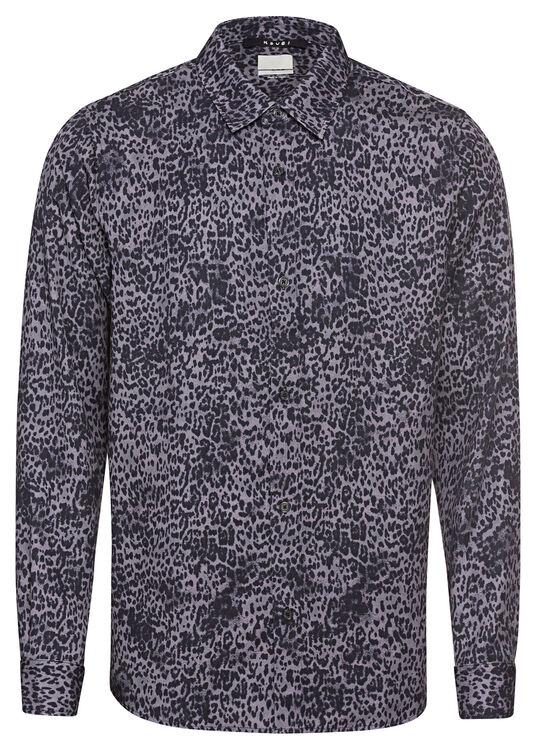 jungle ss shirt black leopard image number 0
