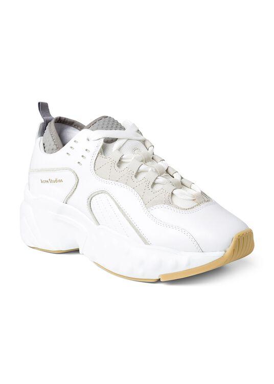 3_Manhattan Nappa Sneaker, Weiß, large image number 1