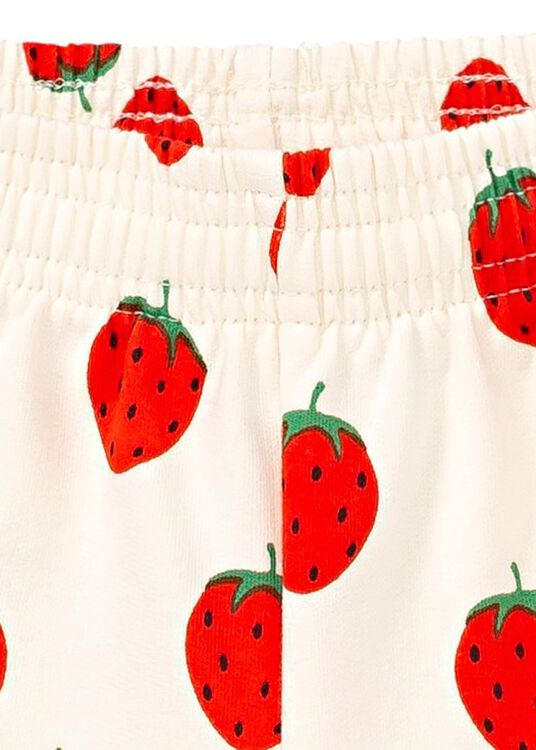 Strawberry AOP Sweat Shorts image number 2