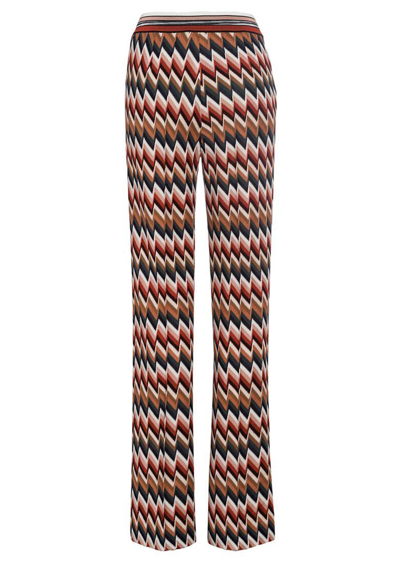 PANTALONE - ZIG ZAG RIGATO, Mehrfarbig, large image number 1