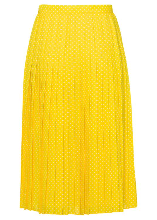 Short pleated skirt image number 0