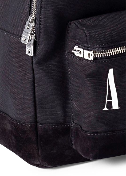 CORE LOGO CANVS/SUEDE BACKPACK image number 2