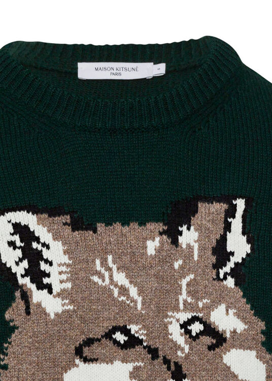 BIG FOX HEAD PULLOVER image number 2