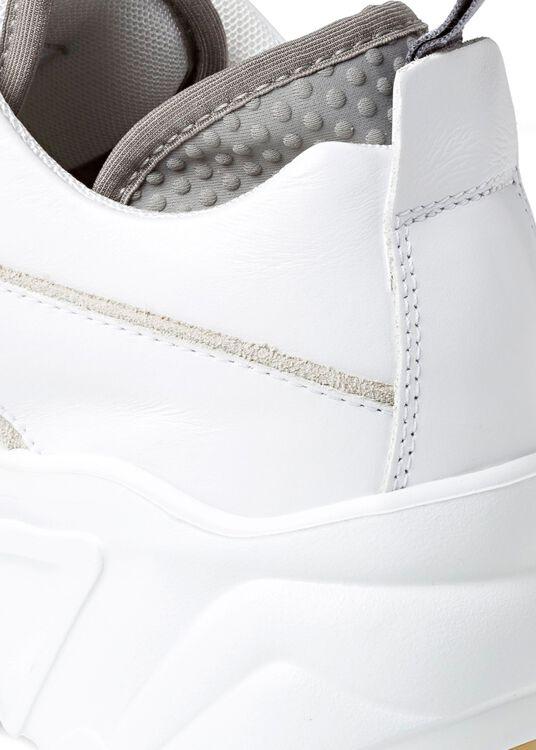 3_Manhattan Nappa Sneaker, Weiß, large image number 3
