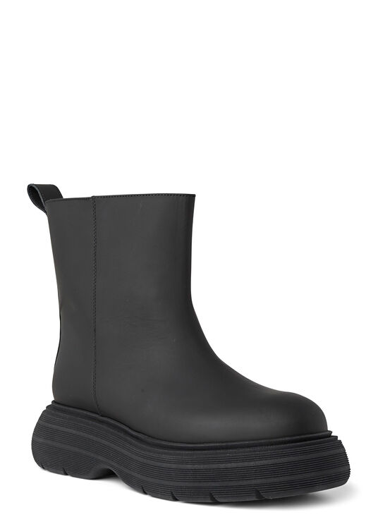 Short Black Rubber Boot image number 1
