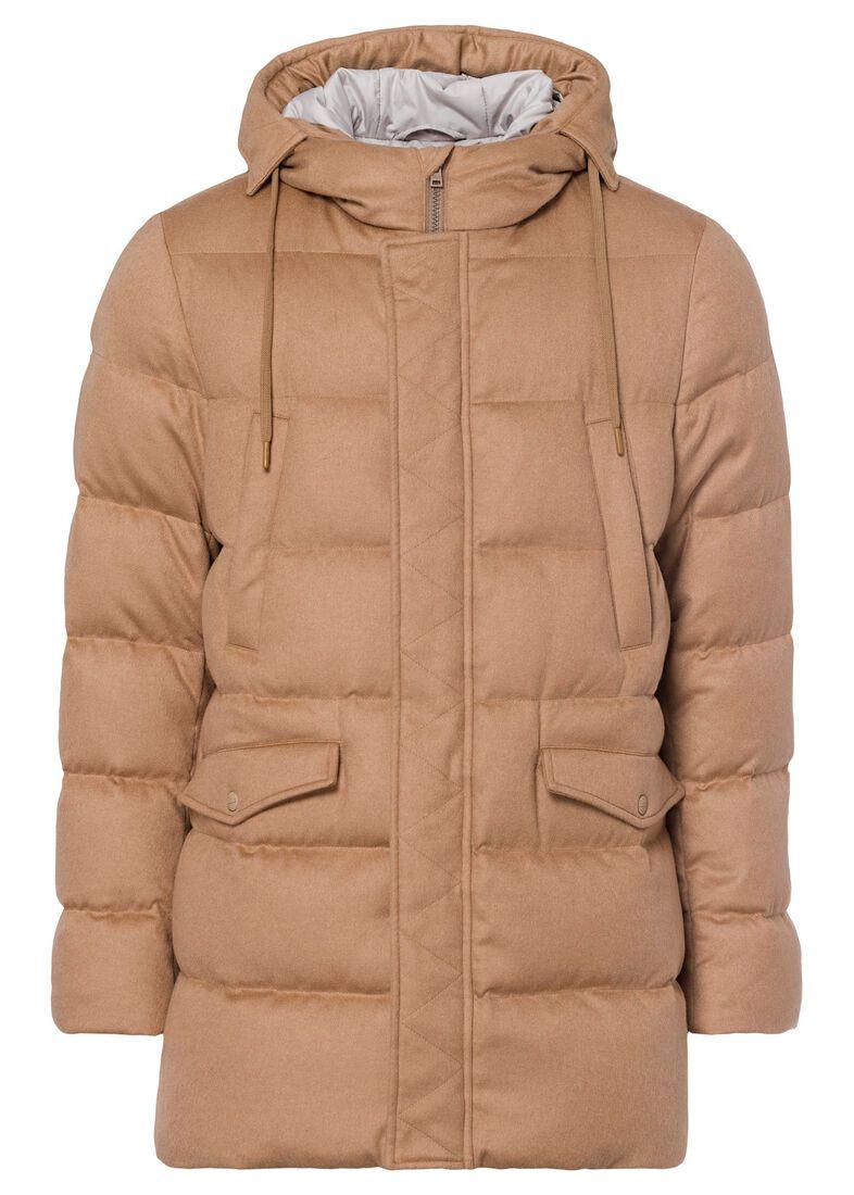Men's Woven Jacket, Beige, large image number 0