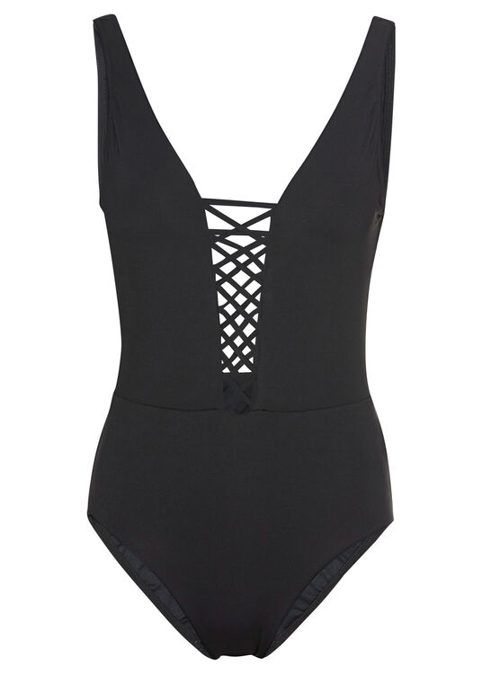 Active Lace up Maillot image number 0