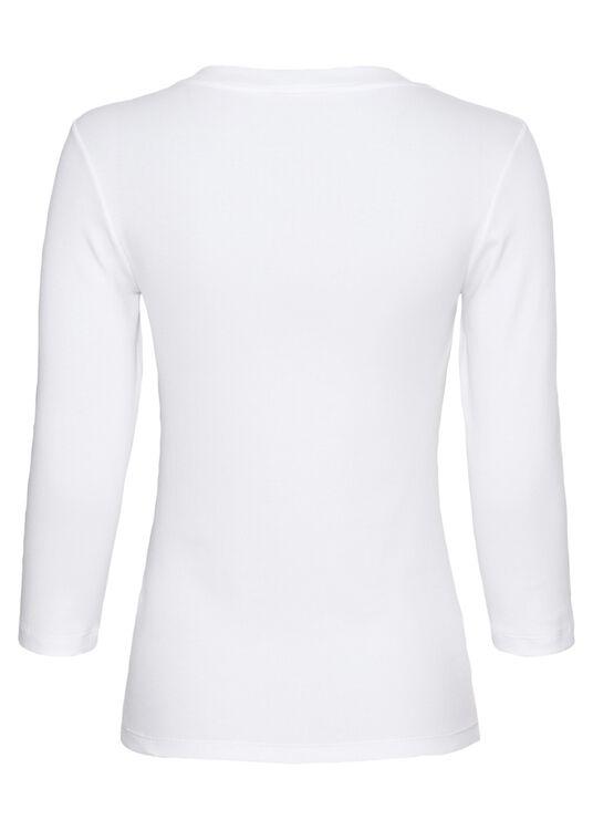 Bluse, Weiß, large image number 1