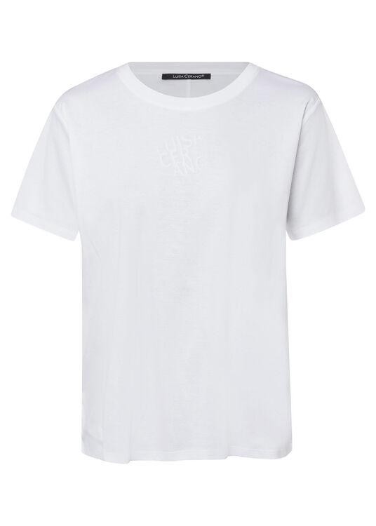 T-Shirt mit Logo-Prin image number 0