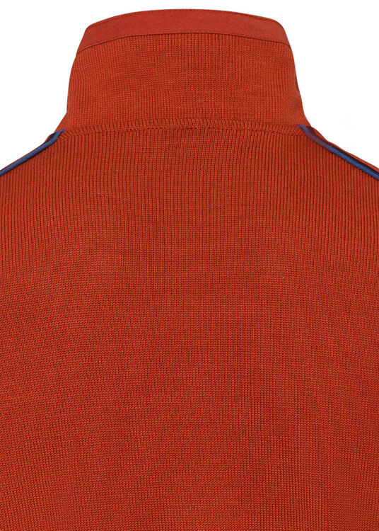 MEN'S ZIPPED PULLOVER C.W. WOOL image number 3