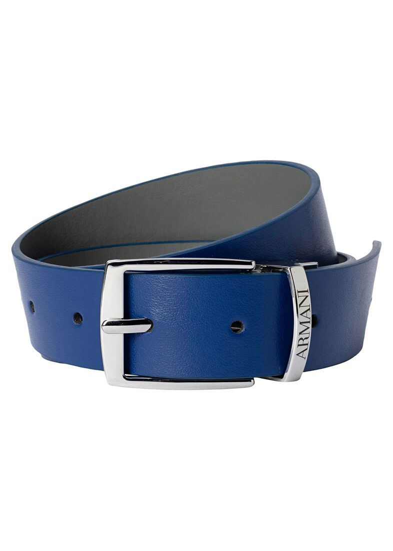 Reversible belt, Blau, large image number 0