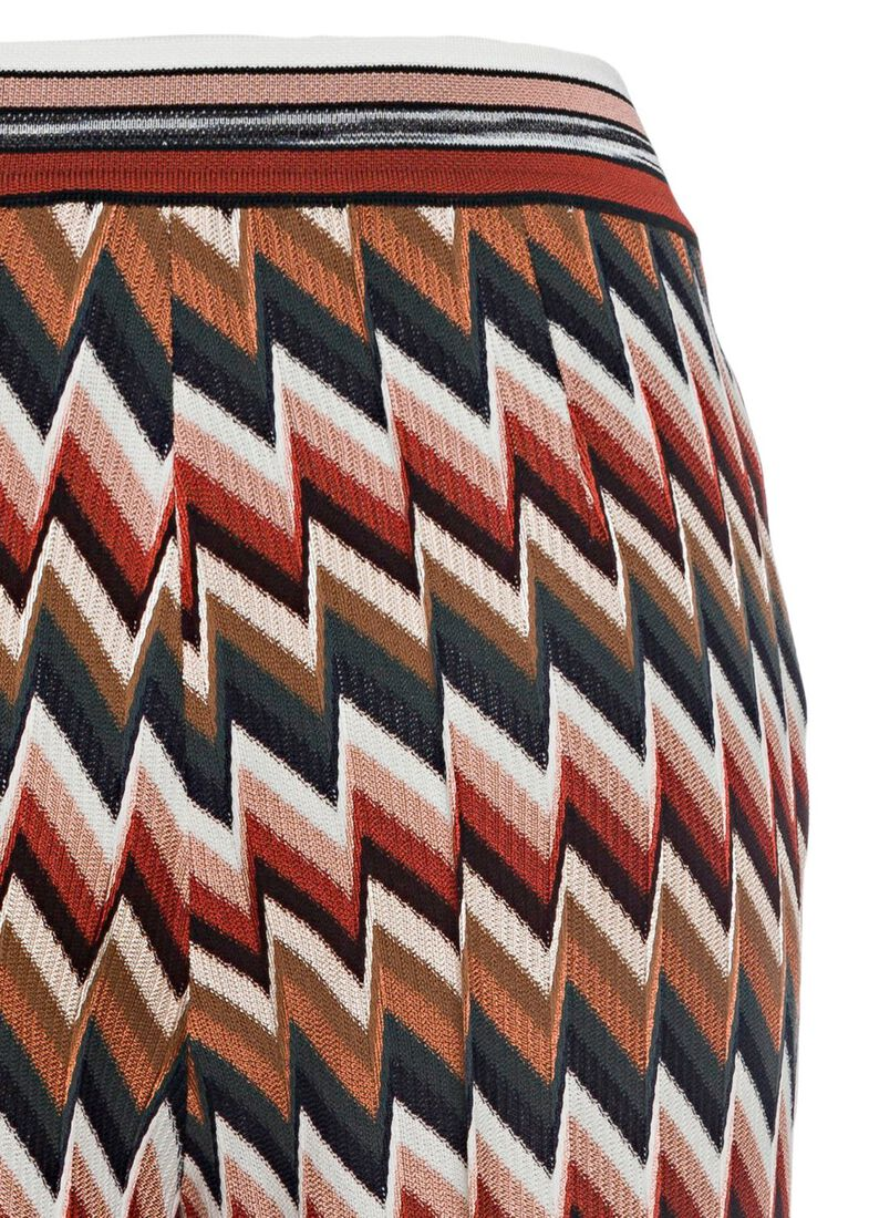 PANTALONE - ZIG ZAG RIGATO, Mehrfarbig, large image number 3