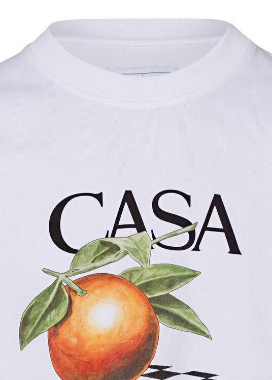 Orange Printed T-Shirt image number 2