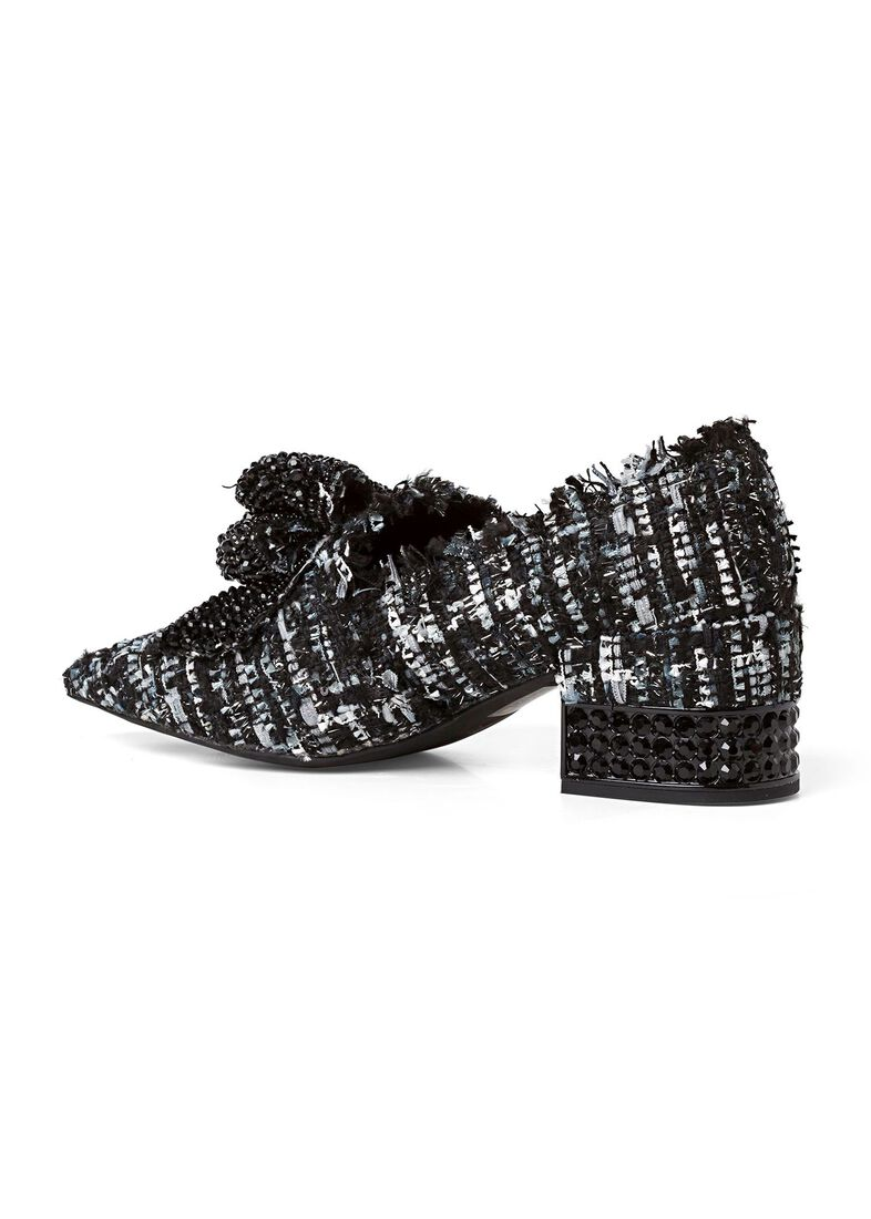 5_Pump Bootie VALENSIA-JH Bow Crystals, Schwarz, large image number 2