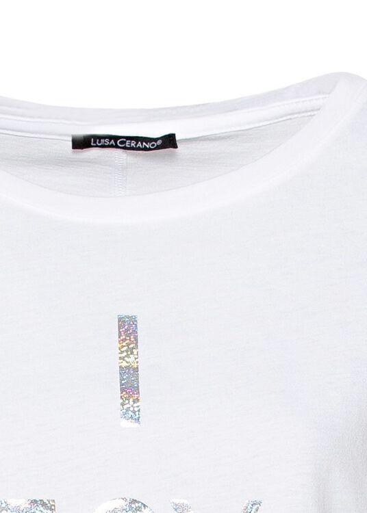 T-Shirt mit Wording-Print image number 2