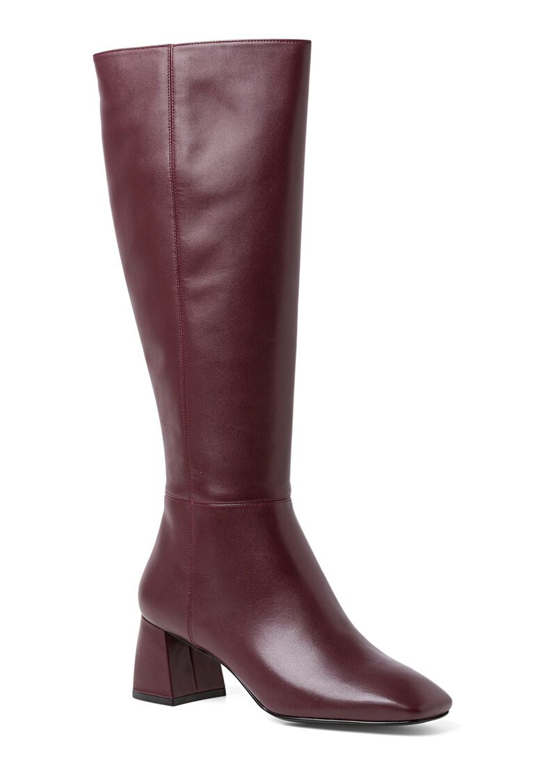 1_Giselle Knee Boot Calf, Rot, large image number 1
